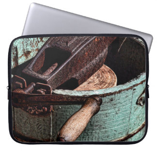 Old Fashioned Ice Cream Churn Computer Sleeve