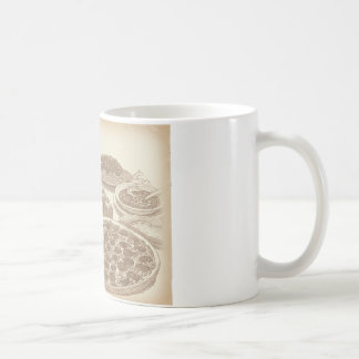 Old Fashioned Italian Food Mugs