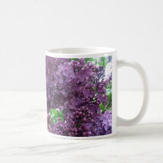 Old Fashioned Lilac Ceramic Mug