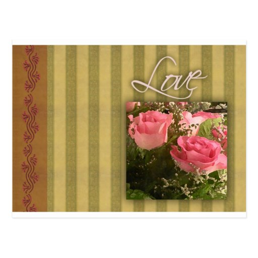 Old Fashioned Love Card Post Card