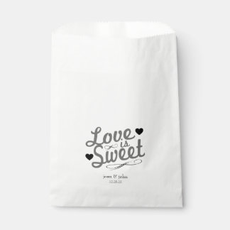 Old Fashioned Love Is Sweet Favor Bags (Gray)
