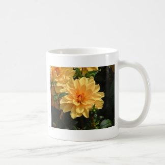 """""""Old Fashioned Orange Dahlia"""" Basic White Mug"""