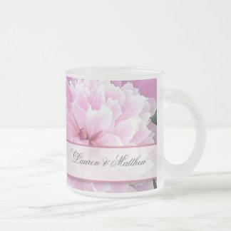 Old fashioned peony mugs