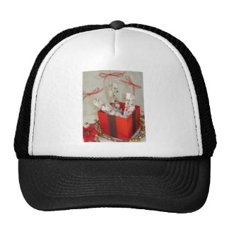 Old Fashioned Peppermint Bark Candy Trucker Hats