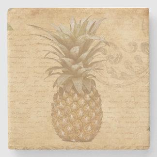 Old-fashioned Pineapple Stone Coaster