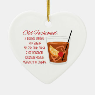 Old Fashioned Recipe Christmas Ornament
