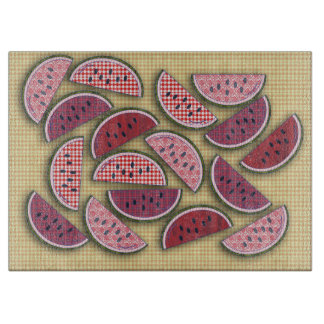 Old Fashioned Retro Watermelons Cutting Board