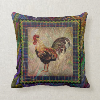 Old fashioned  Rooster Cushion