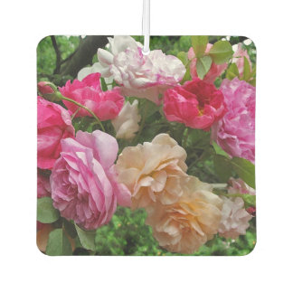 Old Fashioned Rose Flowers Air Freshener