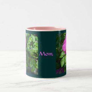 Old-fashioned Rose Two-Tone Mug