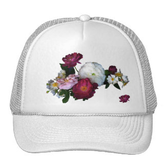 Old fashioned Roses Trucker Hat