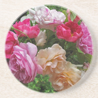Old Fashioned Roses Coaster