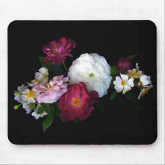 Old fashioned Roses Mousepad