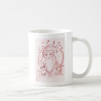 Old Fashioned Santa Basic White Mug