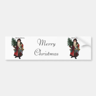 Old Fashioned Santa Claus Bumper Sticker