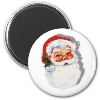 Old Fashioned Santa Claus Fridge Magnet