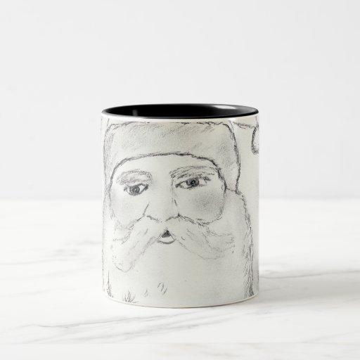 Old Fashioned Santa Claus Coffee Mugs