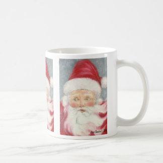 Old Fashioned Santa coffee mug