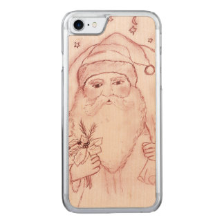 Old Fashioned Santa in Red Carved iPhone 8/7 Case