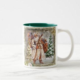 Old fashioned Santa Mug