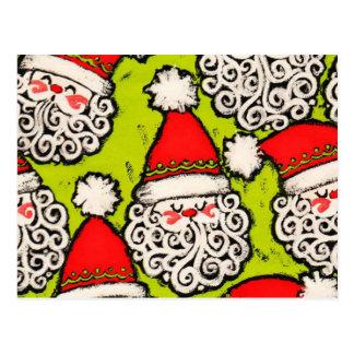 Old Fashioned Santa | Postcard