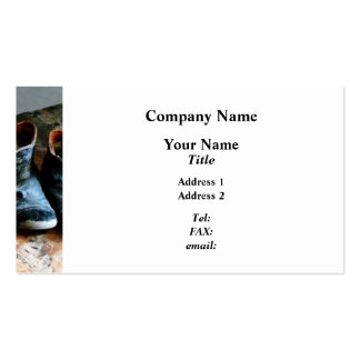 Old-Fashioned Shoes Pack Of Standard Business Cards