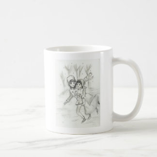 Old Fashioned Skaters Mugs