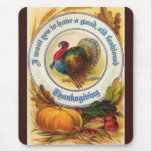 Old Fashioned Thanksgiving Mousepad
