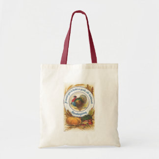 Old Fashioned Thanksgiving Tote Bag