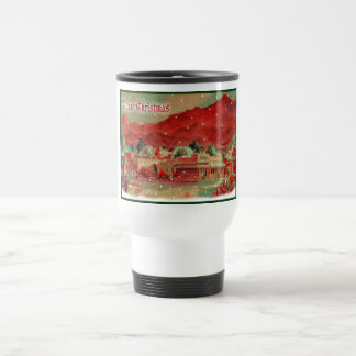 Old Fashioned Tubac Christmas Travel Mug
