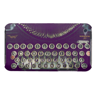 old fashioned typewriter iPod touch covers