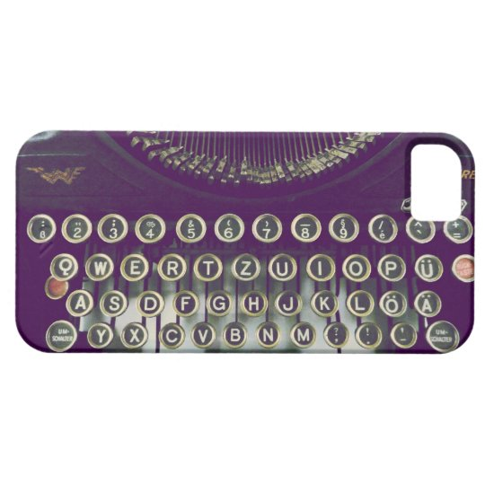 old fashioned typewriter iPhone 5 cases
