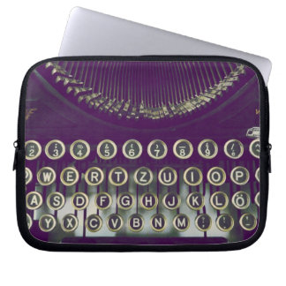 old fashioned typewriter laptop sleeve