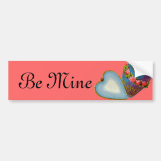 Old Fashioned Valentine Car Bumper Sticker