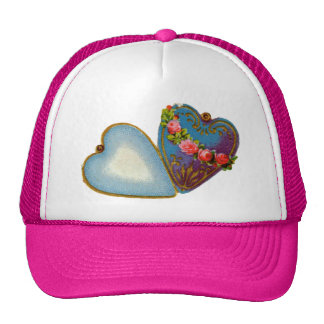 Old Fashioned Valentine Hats