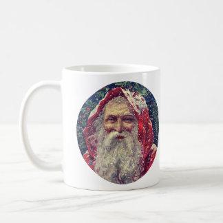 Old-fashioned Victorian Saint Nicholas Basic White Mug