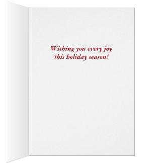 Old-fashioned Victorian Saint Nicholas Greeting Card