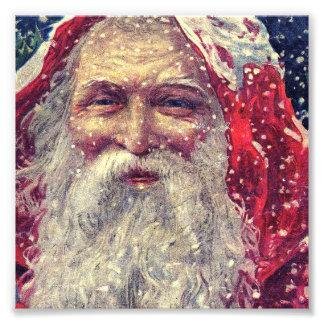 Old-fashioned Victorian Saint Nicholas Photograph