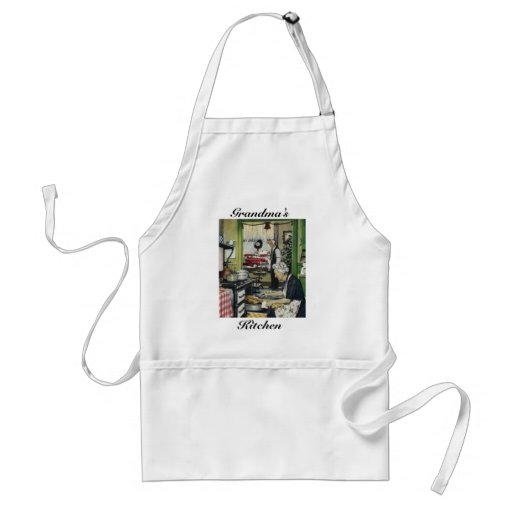 Old Fashioned Vintage Home Holiday Apron