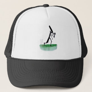 old father time - cricket, tony fernandes trucker hat