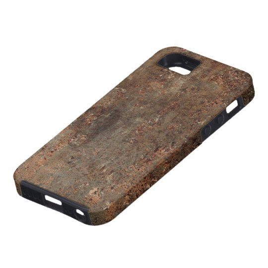 Old Faux Leather Print iPhone 5 Case