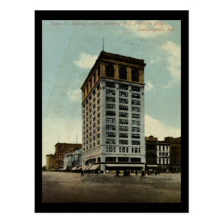 Old Fellow s Building Indianapolis 1910 Vintage Post Card