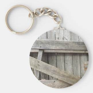 Old Fence Key Ring