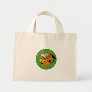 Old Fiddler 100th Birthday Gifts Mini Tote Bag