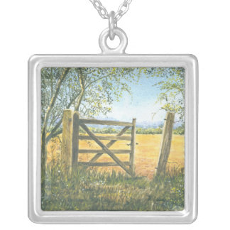 Old Field Gate Necklace