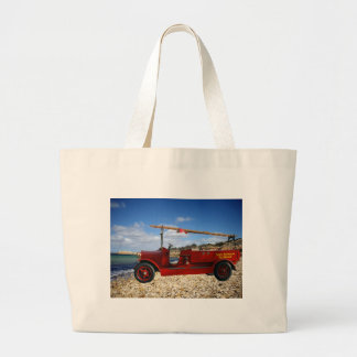 Old_Fire_Truck,_From_Yester_Year,_ Jumbo Tote Bag