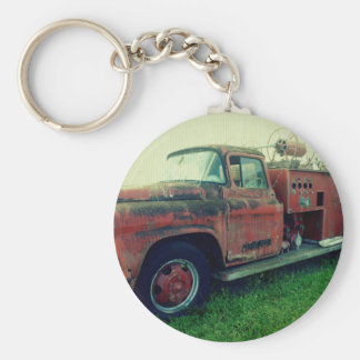 Old Fire Truck Keychains