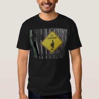Old Fisherman Crossing T Shirts