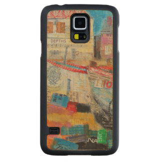 Old Fishing Boats 2013 Carved Maple Galaxy S5 Case