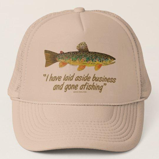 Old Fishing Words Trucker Hat